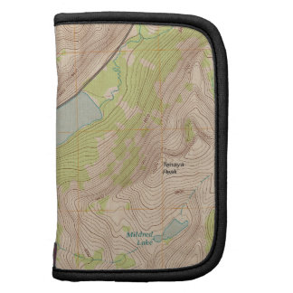 Tenaya Lake Yosemite Topographic Map Planners