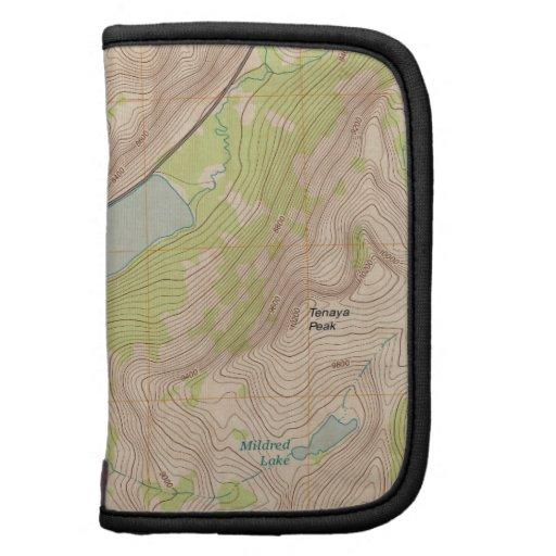 Tenaya Lake, Yosemite Topographic Map Planners
