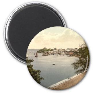Tenby, Pembrokeshire, Wales 6 Cm Round Magnet