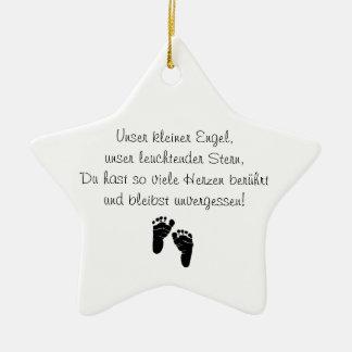 Tendency ornamentation of star children christmas ornament