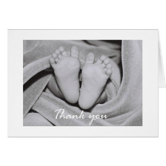 Tender Feet - thank you Card