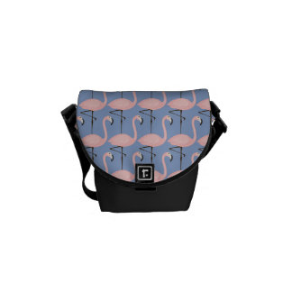 Tender Flamingo Pattern Commuter Bags