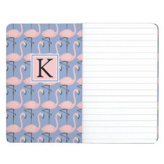 Tender Flamingo Pattern | Monogram Journal