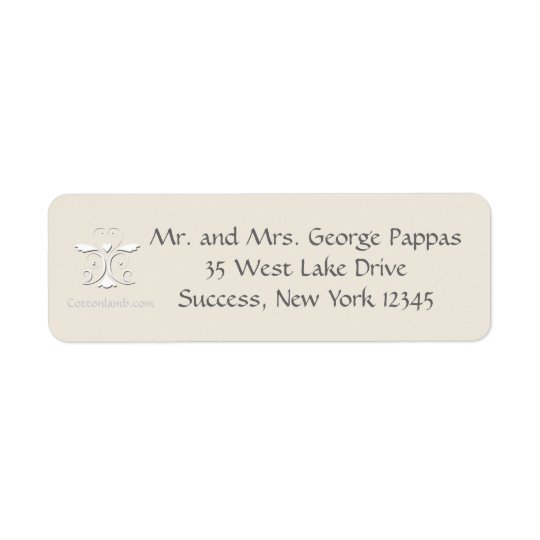 Tender Heart Return Address Labels