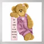 Tender Loving Bear Posters