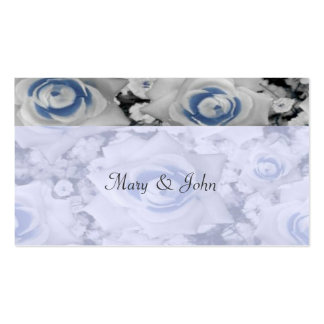 Tender Roses Wedding Favor Tag Business Card