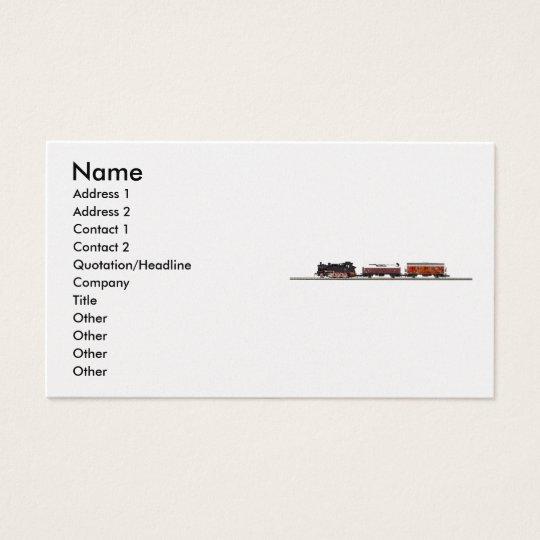 Tenderlokomotive Profile Card