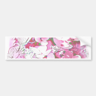 tenderly and pink bumper sticker