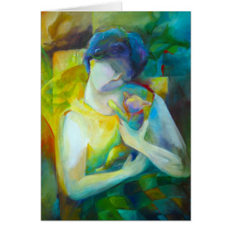 Tenderness - Fine Art Greeting Card