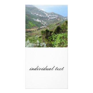 Tenerife 10 personalized photo card