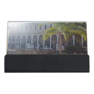Tenerife Hotel in Sunshine Small Card Holder