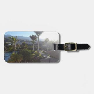 Tenerife Landscape Luggage Tag