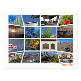 Tenerife multi-image postcard