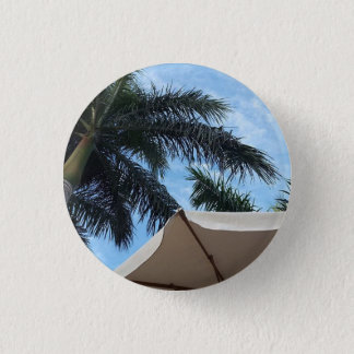 Tenerife Palm Tree Button Badge