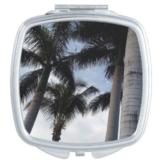 Tenerife Palm Trees Compact Mirror