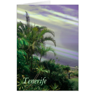 Tenerife,shades Greeting Card