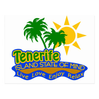 Tenerife State of Mind postcard