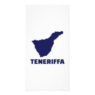 Teneriffa Customised Photo Card