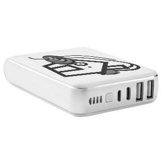 TenFour 10400mAh Power Bank by OrigAudio, White