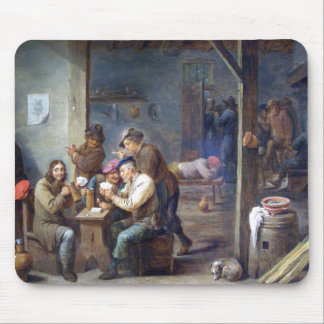 Teniers the Younger - Tavern Scene 1658 Mouse Pads