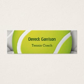 Tenis Coach | Sport Mini Business Card