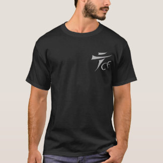 Tenkara on the Fly logo only dark t-shirt
