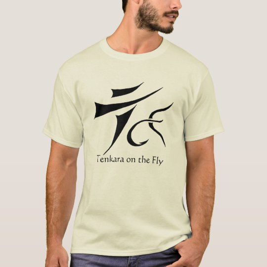Tenkara on the Fly t-shirt basic