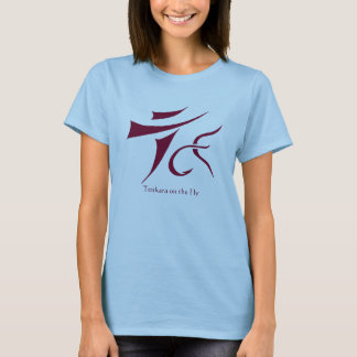 Tenkara on the Fly t-shirt Ladies