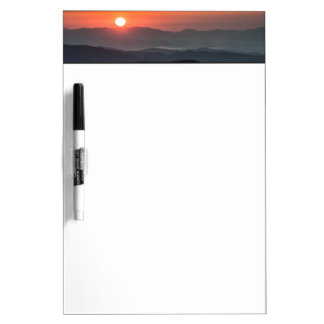 Tennant Mt, Graveyard Fields area, sunrise Dry Erase Board