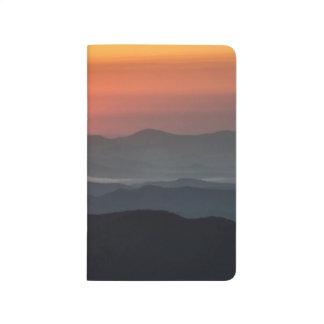 Tennant Mt, Graveyard Fields area, sunrise Journal