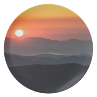 Tennant Mt, Graveyard Fields area, sunrise Plate