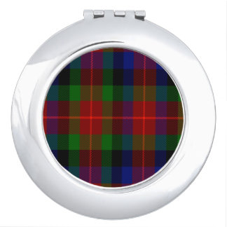 Tennant Scottish Tartan Compact Mirrors