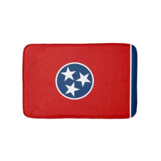 Tennessean flag, American state flag Bath Mats