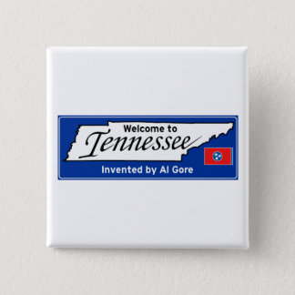 Tennessee 15 Cm Square Badge