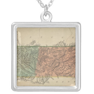 Tennessee 2 silver plated necklace