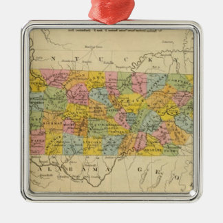 Tennessee 3 christmas ornament