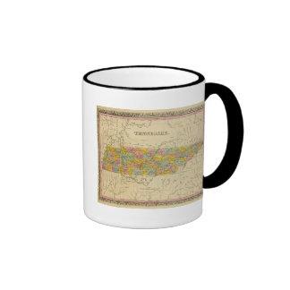 Tennessee 3 ringer mug