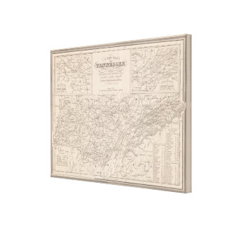 Tennessee 5 canvas print