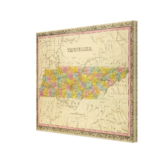 Tennessee 6 canvas print