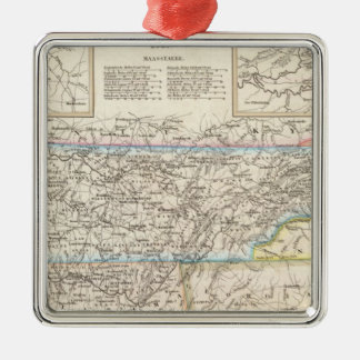 Tennessee 6 christmas ornament