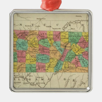 Tennessee 7 christmas ornament