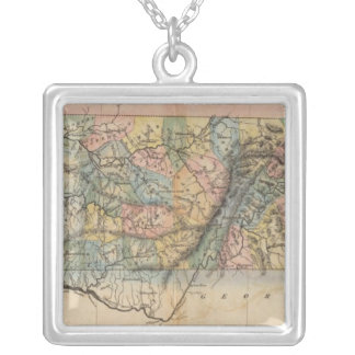Tennessee 7 silver plated necklace