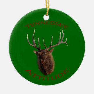 Tennessee Attitude Christmas Ornament