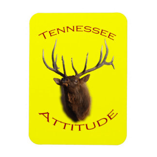 Tennessee Attitude Rectangular Photo Magnet