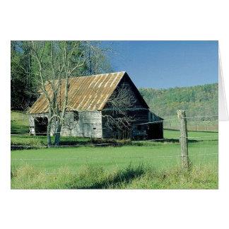 Tennessee Barn Card