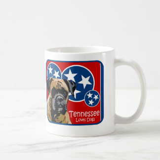 Tennessee Boxer Coffee Mug
