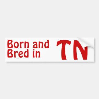 Tennessee Bred (Bumper) Sticker Bumper Sticker