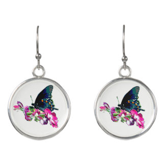 Tennessee Butterfly Earrings