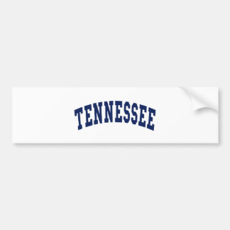 Tennessee College Bumper Sticker