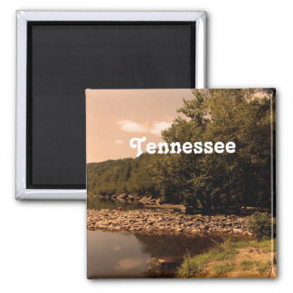 Tennessee Creek Square Magnet